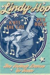 Plakat med en dansende Per Rock